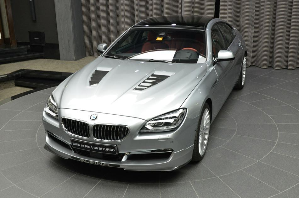 Abu Dhabi BMW Dealership Now Home To An Alpina B Gran Coupe BMW - Bmw alpina b6 biturbo price