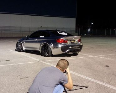 Liberty Walk BMW M4 at SEMA