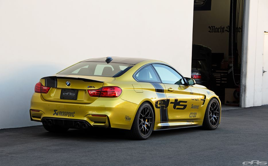 Austin Yellow BMW M4 Coupe by European Auto Source