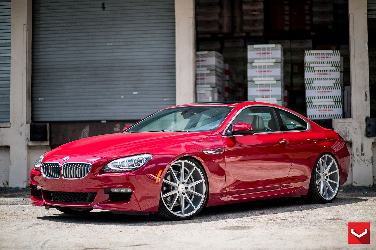 bmw 6 series by vossen bmw car tuning. Black Bedroom Furniture Sets. Home Design Ideas