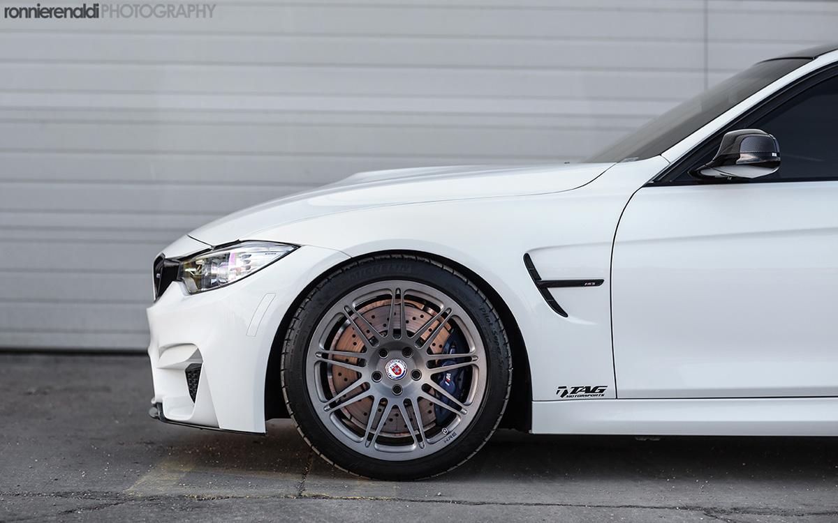 F80 BMW M3 by HRE Wheels