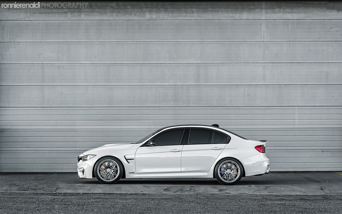 F80 BMW M3 by HRE Wheels