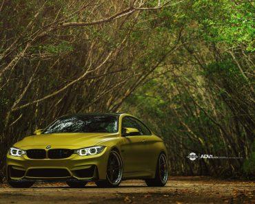 BMW M4 by ADV.1 Wheels