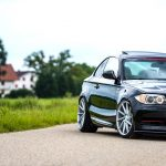 BMW 1 Series Coupe Riding on Vossen CVT Wheels