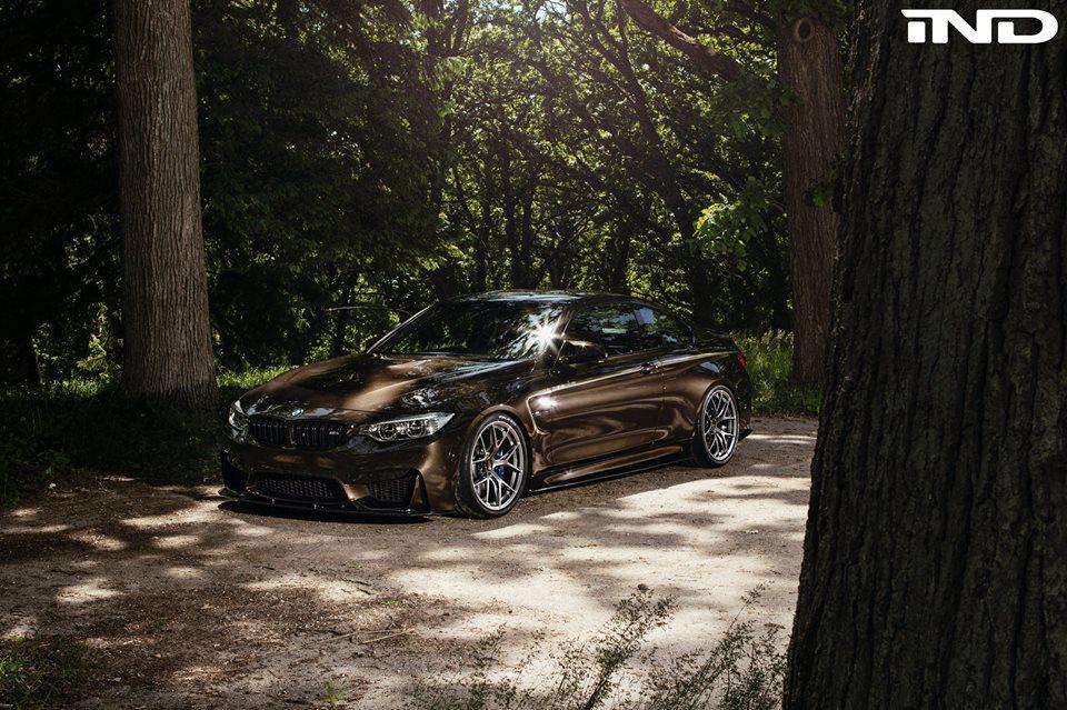 IND`s Pyrite Brown BMW M4