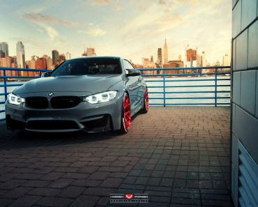 BMW M4 by Vossen