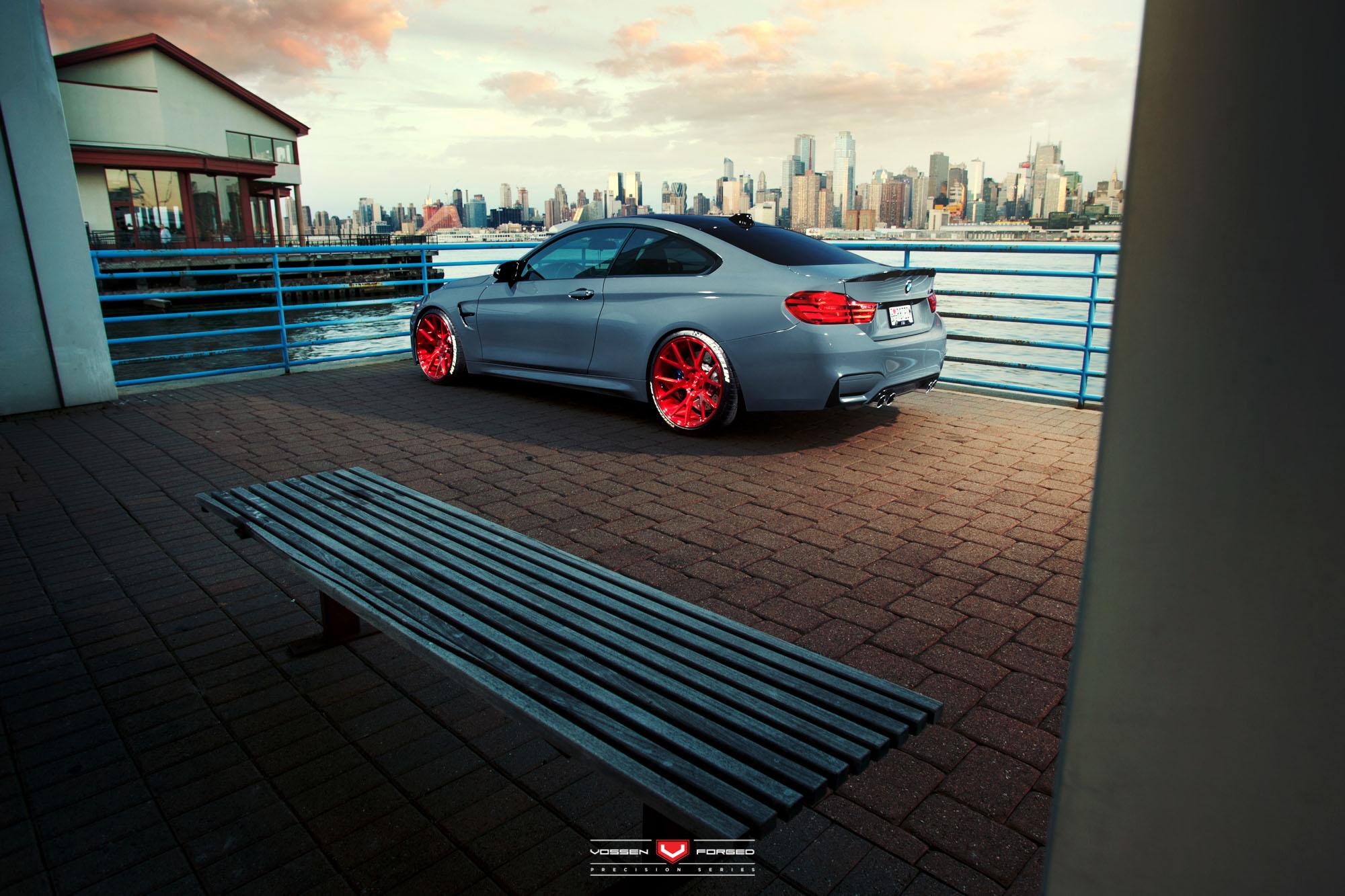 BMW M4 by Vossen