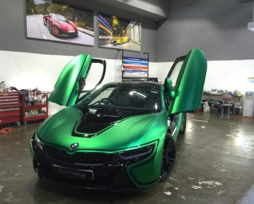 BMW i8 by Impressive Wrap Hong Kong