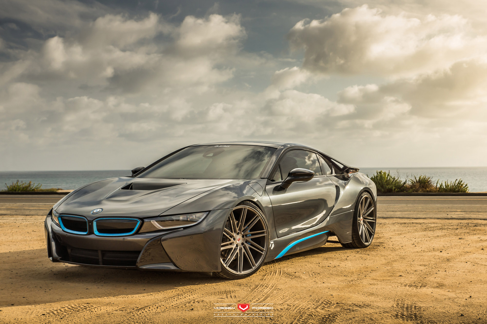 bmw i8 on vossen wheels bmw car tuning. Black Bedroom Furniture Sets. Home Design Ideas