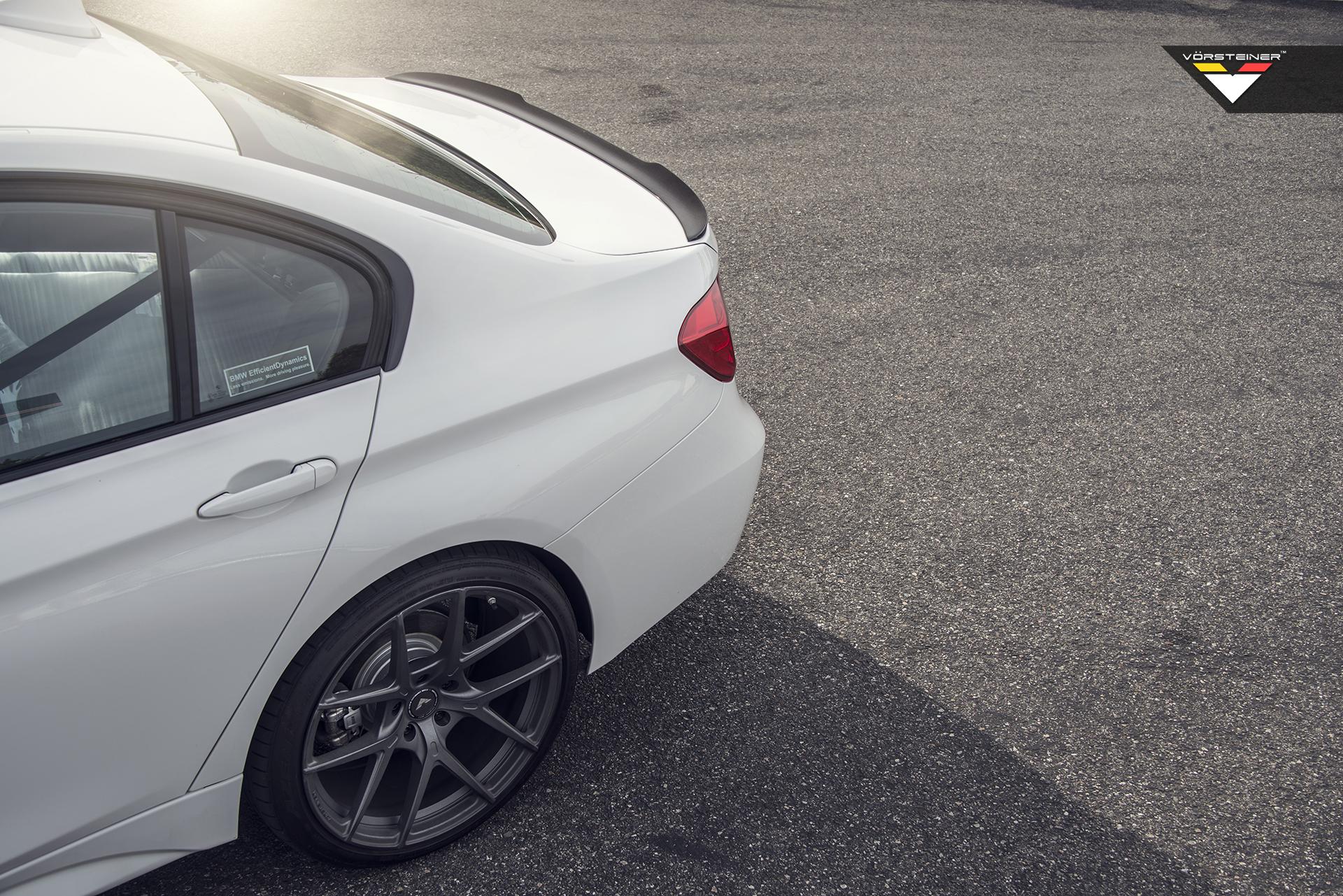 F30 BMW 3-Series Deck Lid Spoiler by Vorsteiner