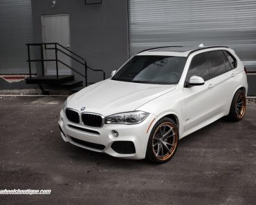 2015 BMW X5 M on HRE Wheels
