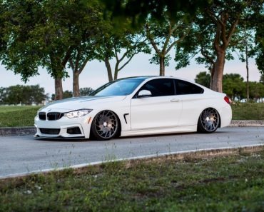 BMW 4-Series 435i on Vossen Wheels