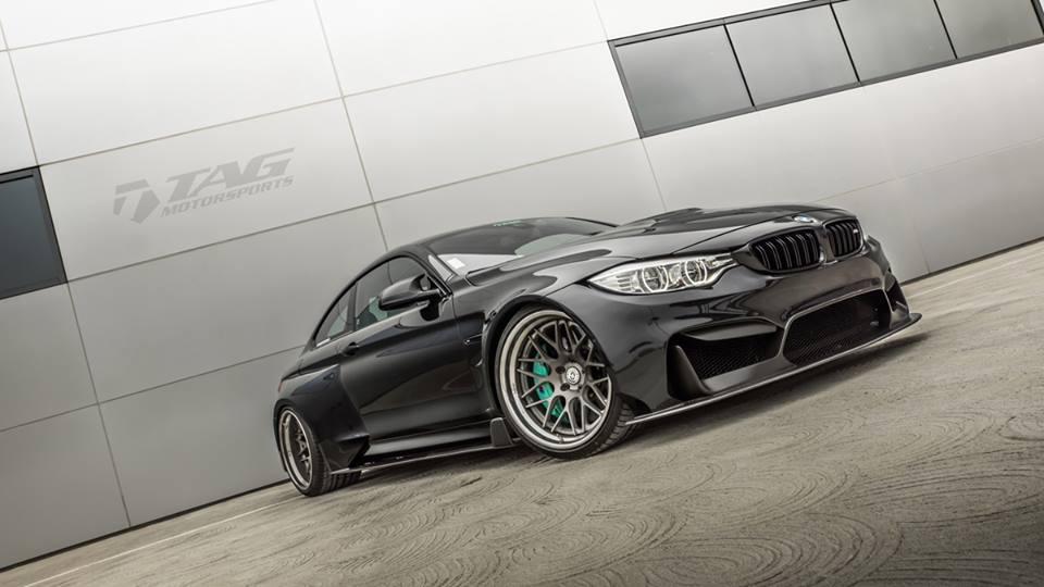 bmw m4 wide body kit by tag motorsports bmw car tuning. Black Bedroom Furniture Sets. Home Design Ideas