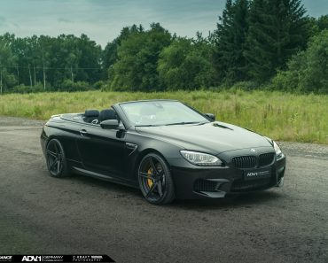 BMW M6 Convertible on ADV.1 Wheels