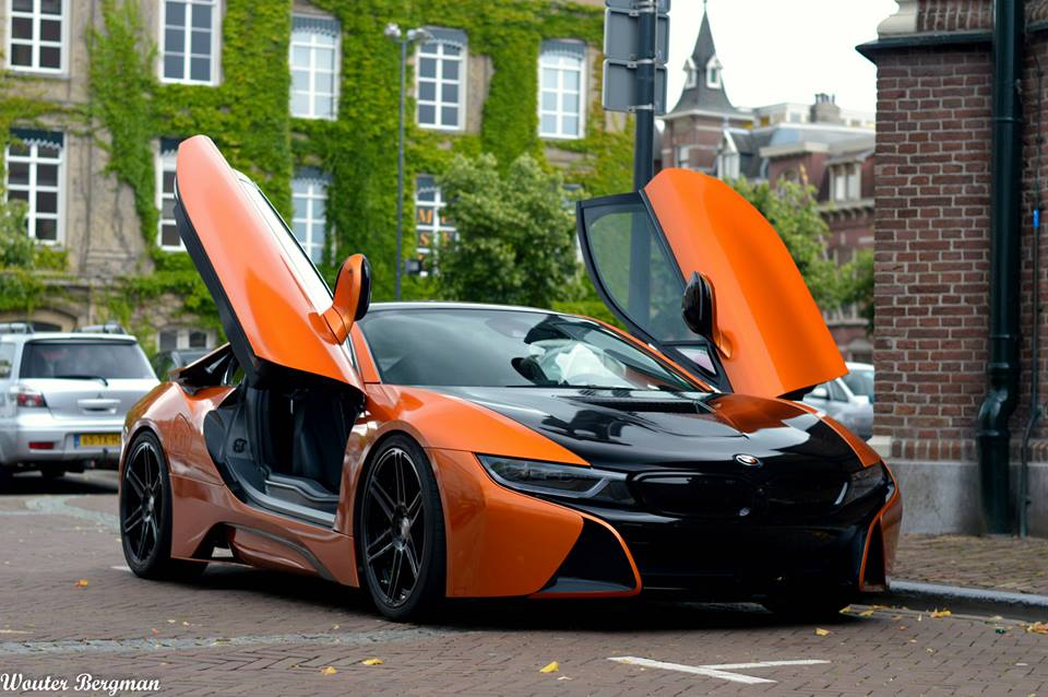 Bmw I8 By Manhart Pops Up In Netherlands Bmw Car Tuning