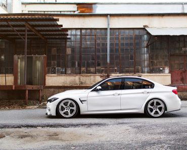 F80 BMW M3 on HRE Wheels