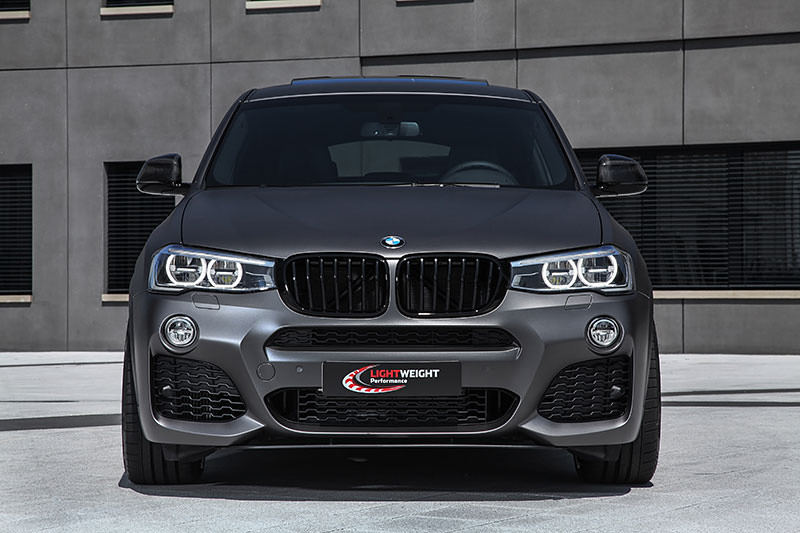 bmw x4 by lightweight performance bmw car tuningbmw x4 by lightweight performance