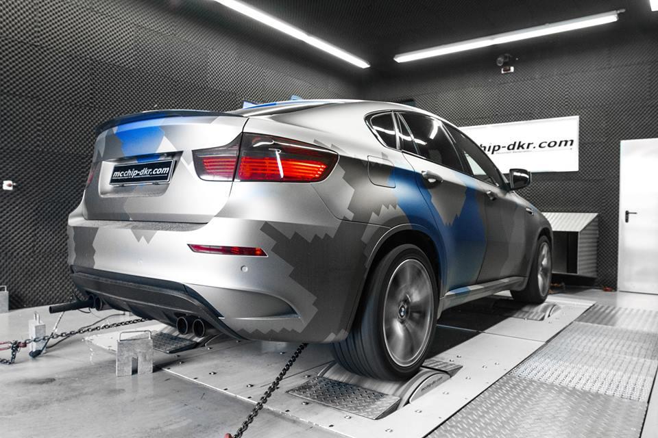 Mcchip Dkr Power Boosts Bmw X6m Bmw Car Tuning