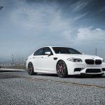 F10 BMW M5 on Vorsteiner Wheels