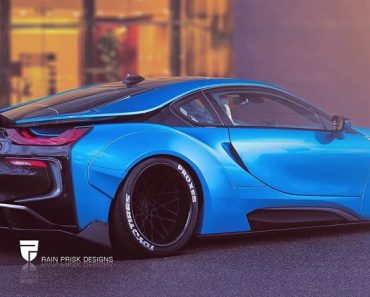 BMW i8 Liberty Walk Rendering