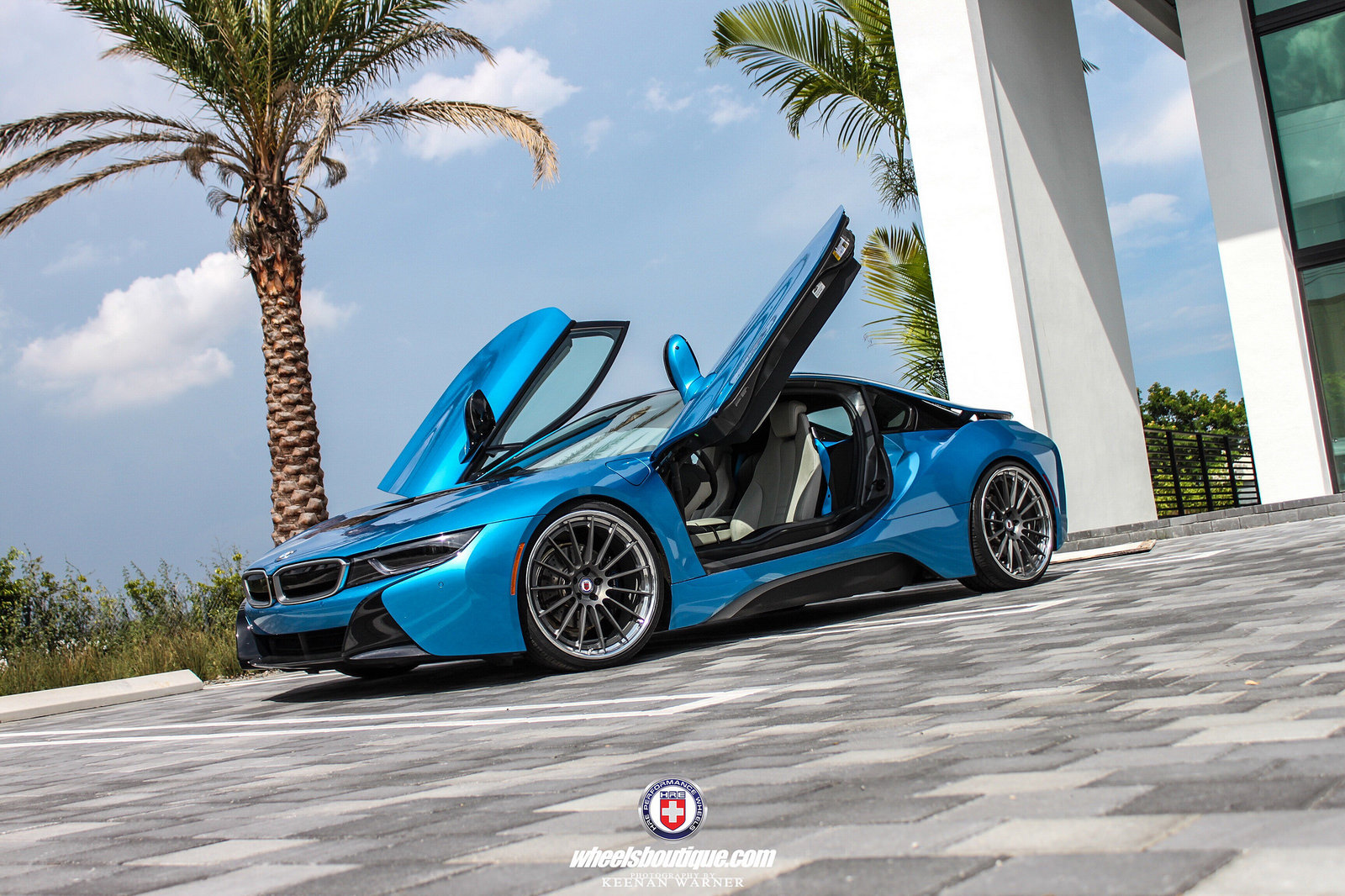 BMW i8 with HRE Wheels (4)