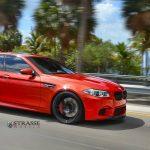 F10 BMW M5 with Strasse Wheels (1)