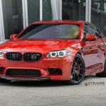 F10 BMW M5 with Strasse Wheels (10)