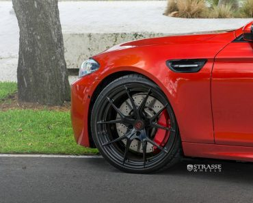 F10 BMW M5 with Strasse Wheels (3)