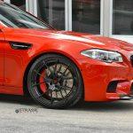 F10 BMW M5 with Strasse Wheels (6)