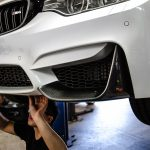 Alpine White F82 BMW M4 with M Performance Parts by EAS (1)