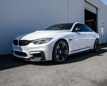 Alpine White F82 BMW M4 with M Performance Parts by EAS (2)