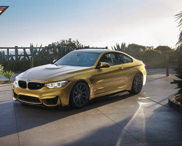 F82 BMW M4 by Vorsteiner Wheels (6)