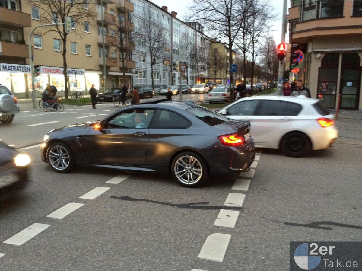 2016 BMW M2 Coupe Spotted in Mineral Grey (1)