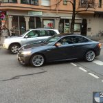 2016 BMW M2 Coupe Spotted in Mineral Grey (2)