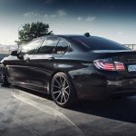 F10 BMW 5-Series M Sport Sits on Vossen Wheels (1)