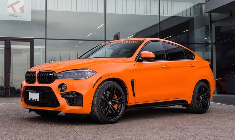 Orange Crush Bmw X6 M By Pfaff Bmw Car Tuning