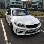 Alpine White 2016 BMW M2 Coupe with M Performance Parts  (1)