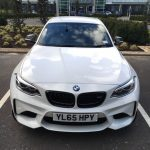 Alpine White 2016 BMW M2 Coupe with M Performance Parts  (11)