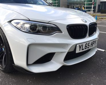 Alpine White 2016 BMW M2 Coupe with M Performance Parts  (12)