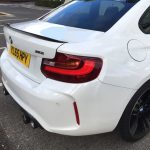 Alpine White 2016 BMW M2 Coupe with M Performance Parts  (3)