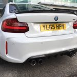 Alpine White 2016 BMW M2 Coupe with M Performance Parts  (6)