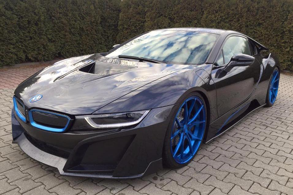 bmw i8 by german special customs with carbon fiber aero. Black Bedroom Furniture Sets. Home Design Ideas