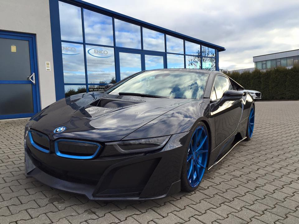 BMW i8 by German Special Customs with Carbon Fiber Aero Kit (2)