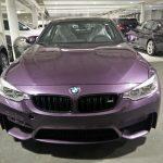 Daytona Violet F82 BMW M4  (2)