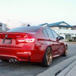 Individual Red 2016 F80 BMW M3 Sits on ADV.1 Wheels (1)