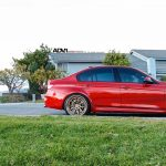 Individual Red 2016 F80 BMW M3 Sits on ADV.1 Wheels (2)