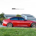 Individual Red 2016 F80 BMW M3 Sits on ADV.1 Wheels (4)