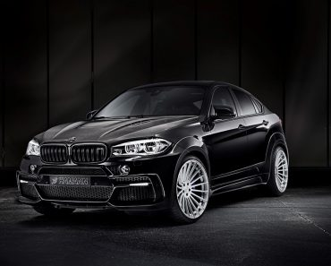 2016 F86 BMW X6 M with Hamann Exhaust System