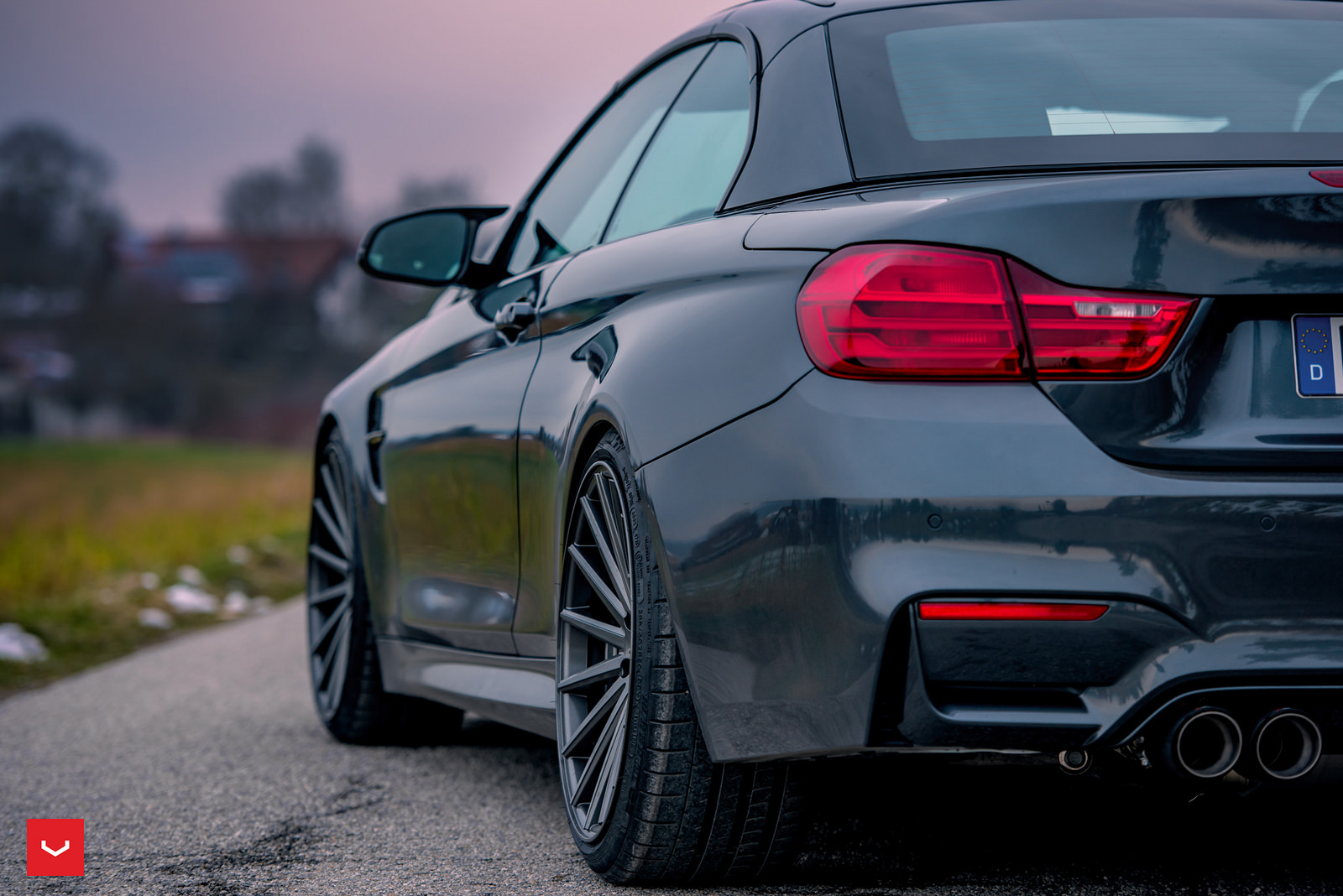 BMW M4 Convertible on Vossen Wheels (4)