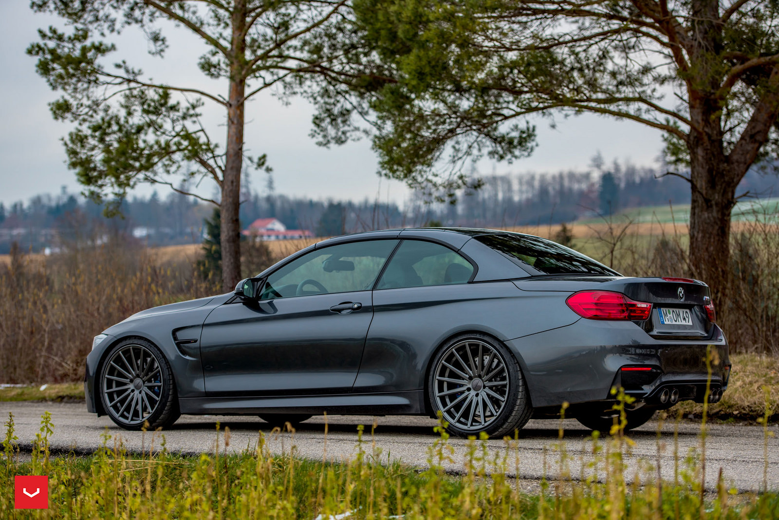 BMW M4 Convertible on Vossen Wheels (5)